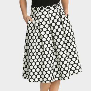 HI THERE FROM KAREN WALKER Spot Midi Skirt